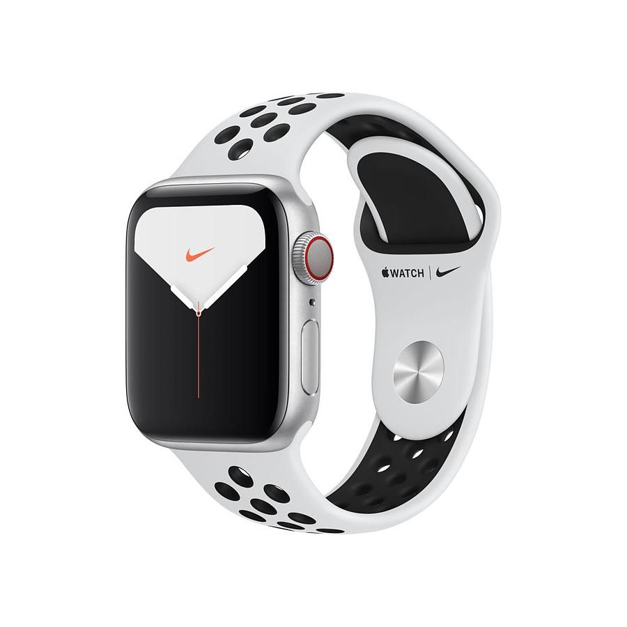 Sélection de montres connectées Apple Watch en promotion - Ex: Montre connectée Apple Watch Nike Series 5 Cellular - 44 mm, Noir