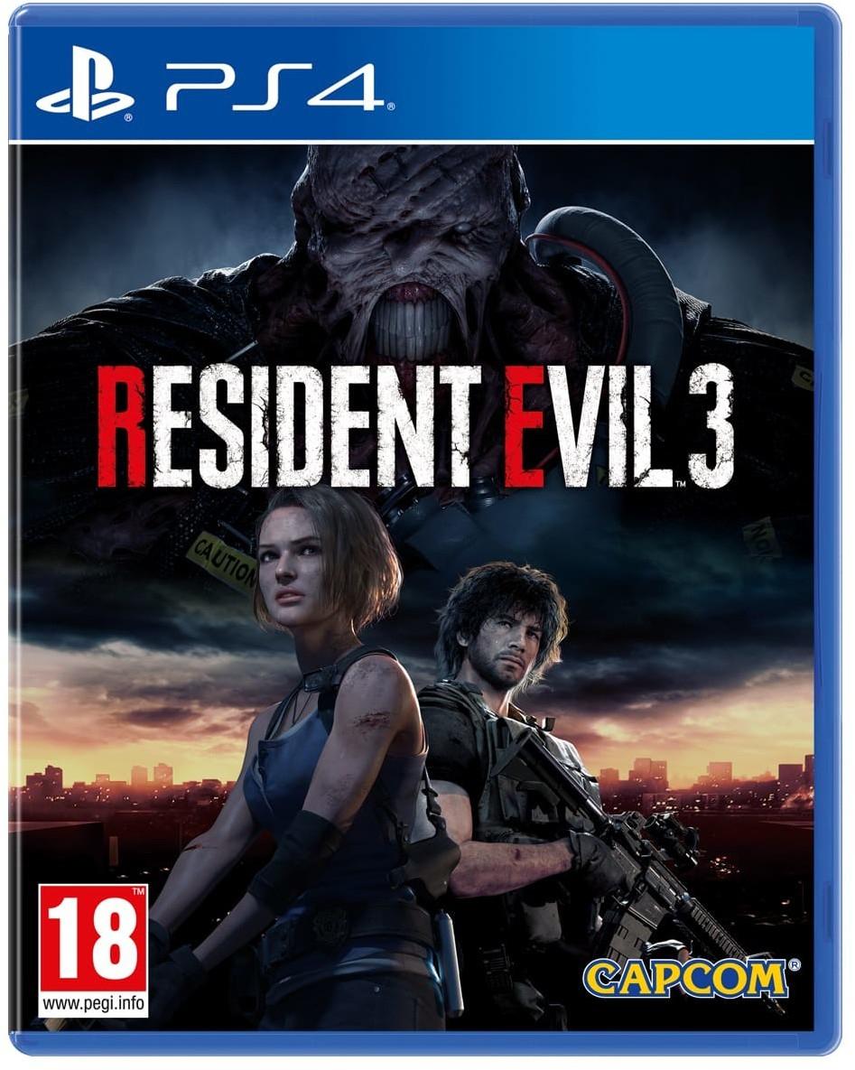 Resident Evil 3 Remake sur PS4