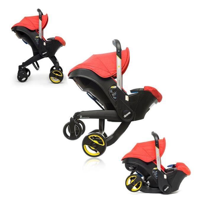 Poussette / siège-auto Doona Car Seat Simple Parenting Doona - groupe 0+, rouge