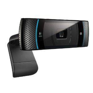 Webcam Logitech Skype pour PC et TV Panasonic - HD 720p
