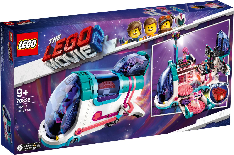 Jouet Lego The Lego Movie 2 - Le bus discothèque (70828)