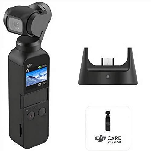 Caméra Stabilisée DJI Osmo Pocket Prime Combo + Kit d'Accessoires et Care Refresh