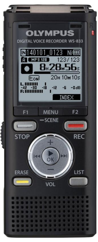 Enregistreur numérique Olympus WS-833