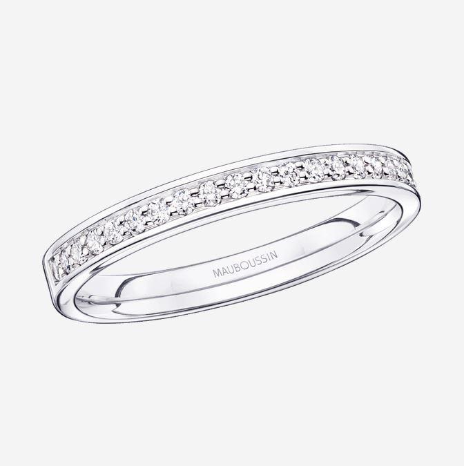 """(Jusqu'à -50%) Sélection de produits en promotion St Valentin - Ex : Alliance diamants """"Parce que je t'Adore""""'"""
