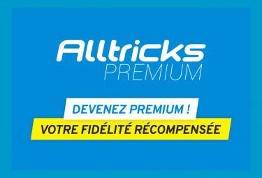1 an d'abonnement au service Alltricks Premium (cashback, livraison gratuite, remises, retours prolongés...)