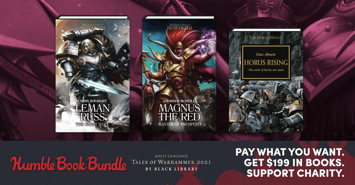 Humble Book Bundle - Sélection d'ebooks Warhammer à partir de 1€ (VF incluse - Dématérialisé)