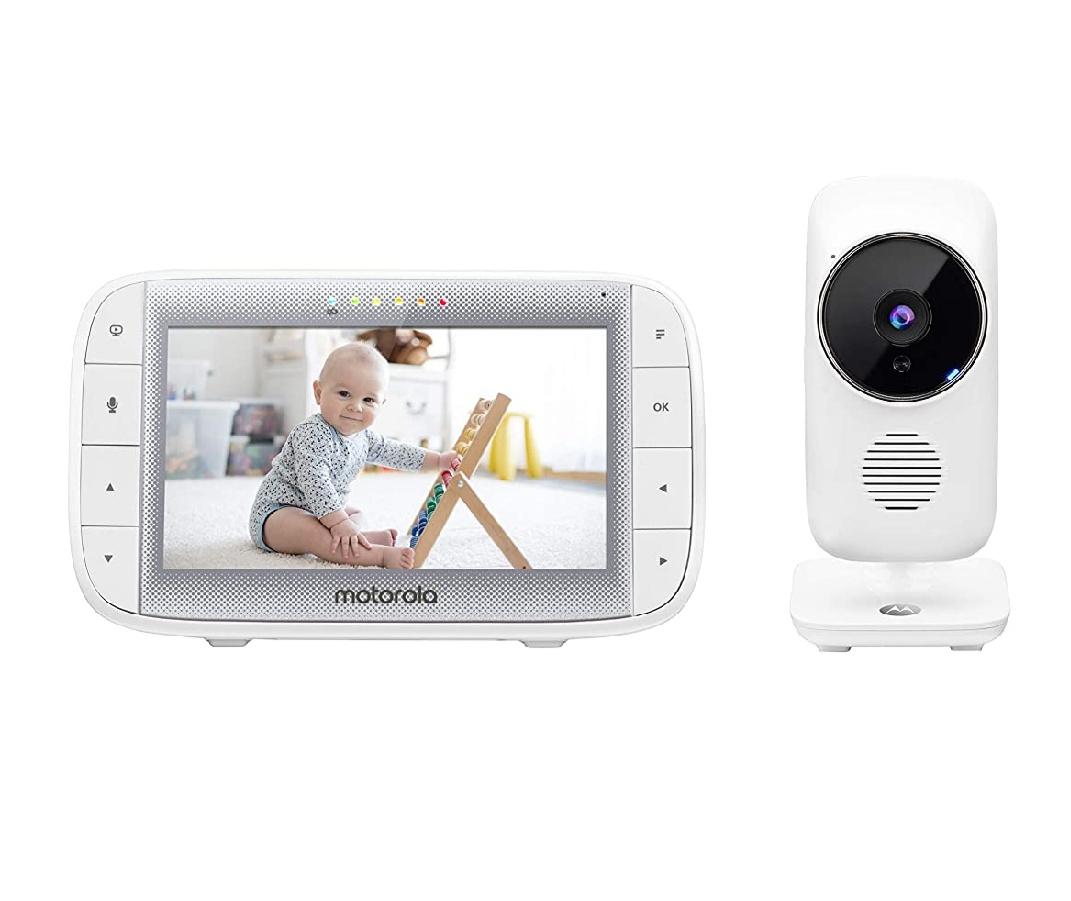 """Babyphone 5"""" avec caméra Motorola MBP 485"""