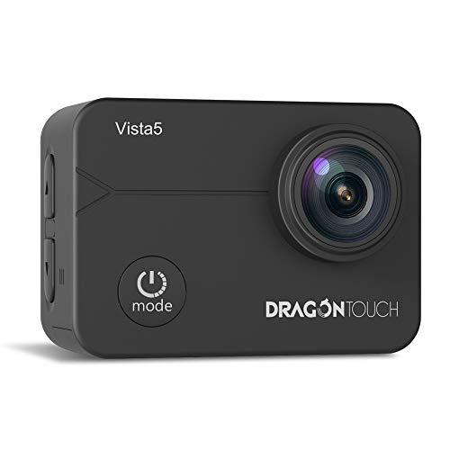 Caméra sportive étanche Dragon Touch Vista 5 - 4K, Noir (Via coupon)