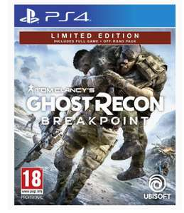 Ghost Recon: Breakpoint - Limited Edition sur PS4