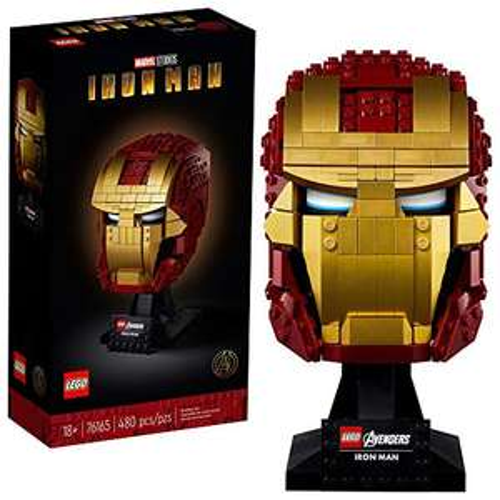 Jeu de Construction Lego Marvel Casque d'Iron Man V29 - 76165