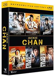 Coffret Blu-ray Jackie Chan: Police Story 1 & 2 + Le Marin des mers de Chine 1 & 2 + Mister Dynamite + Operation Condor