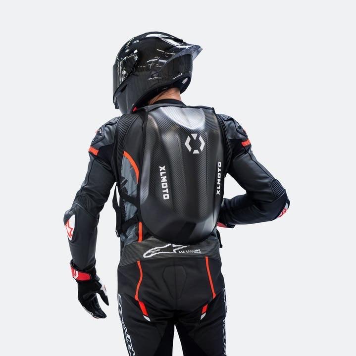Sac à dos moto XLmoto Slipstream - Look Carbone, 24L