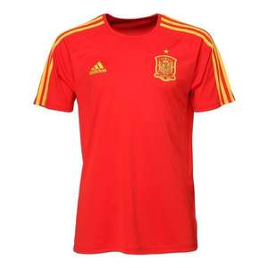 Maillot de football Homme Adidas FEF Espagne - Rouge (Taille XS)