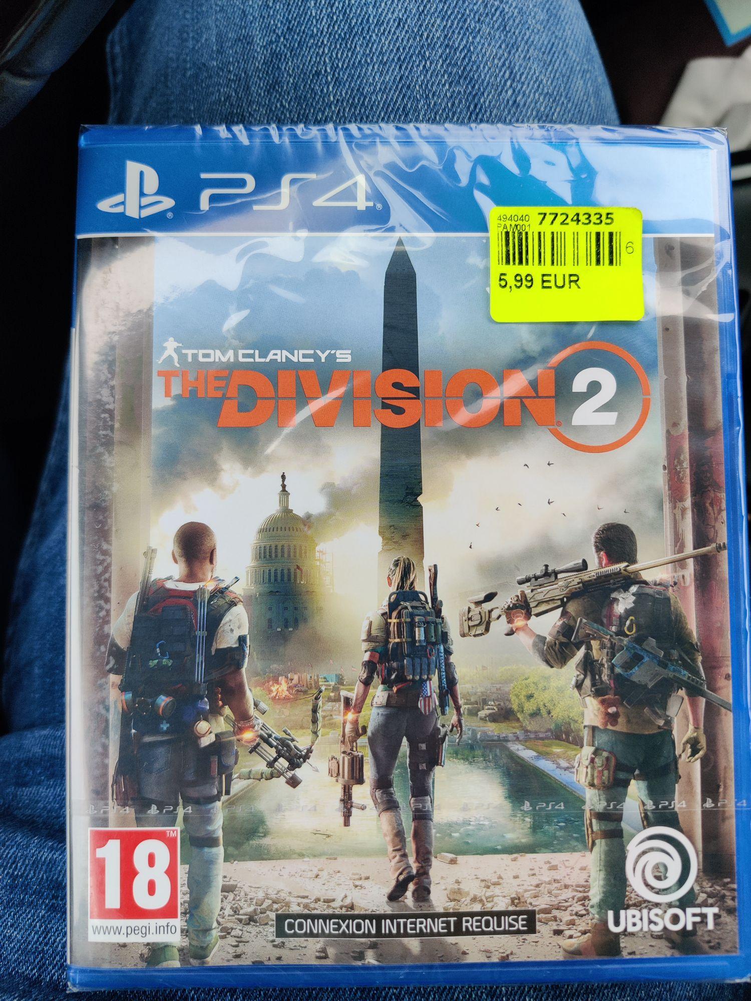The Division 2 sur PS4 - Saint-Pol-sur-Mer (59)