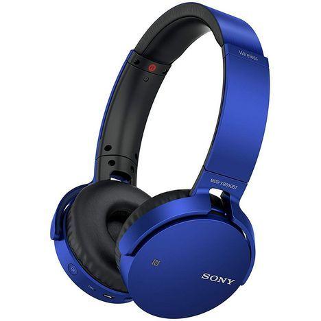 Casque audio Sony MDR-XB650BT - Bluetooth, bleu