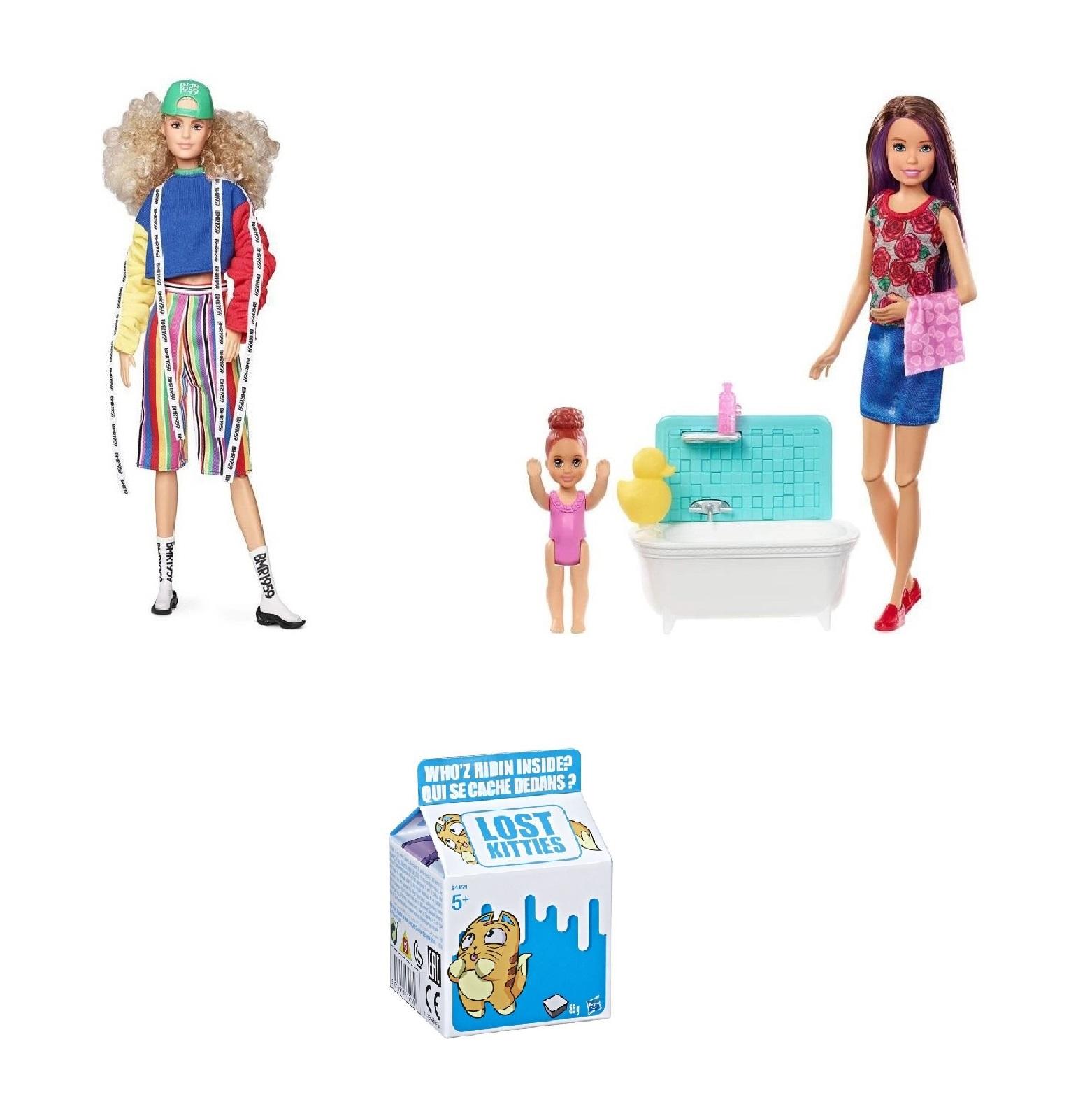 Sélection de Poupées Barbies en promotion + 1 achetée = la 2e à -50% - Ex : Barbie Signature BMR1959 + Barbie Skipper + Jouet Lost Kitties