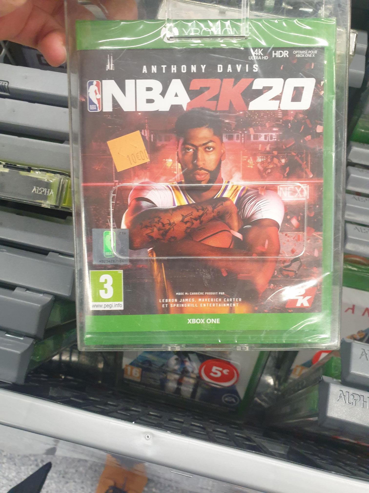 Selection de jeux vidéo PS4 / Xbox one/ PC - Ex: NBA 2K20 sur Xbox One - Belle épine (94)