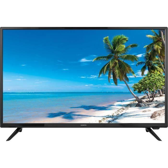 "TV 22"" Oceanic OCEA22CAR20B7 - Full HD, Adaptateur 12 volts"