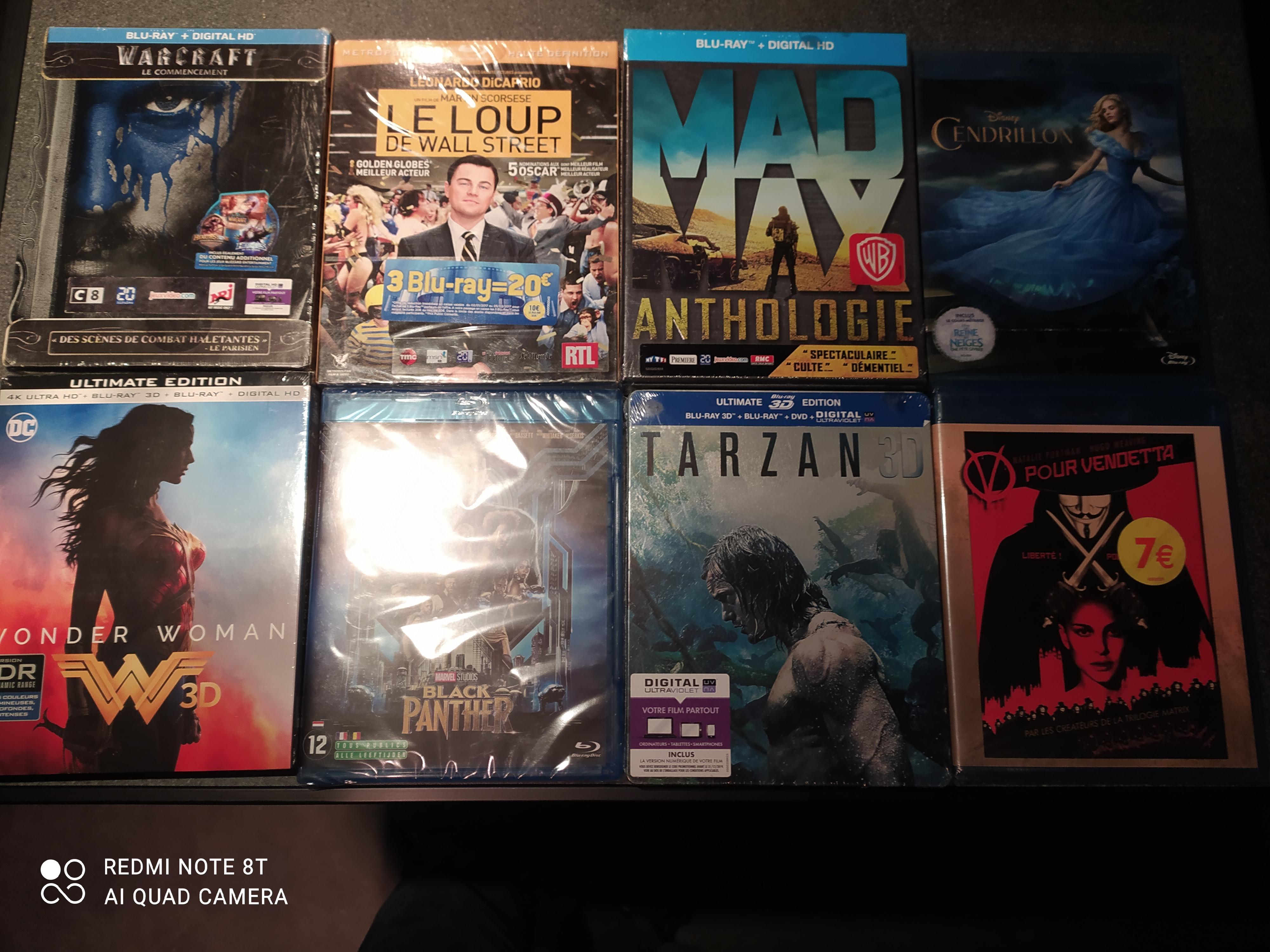 Sélection de films Blu-Ray en promotion - Ex : Black Panther - La Ricamarie (42)