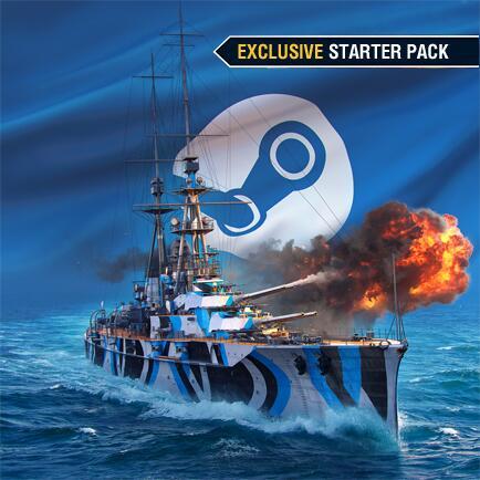 DLC World of Warships Exclusive Starter Pack Gratuit sur PC (Dématérialisé)