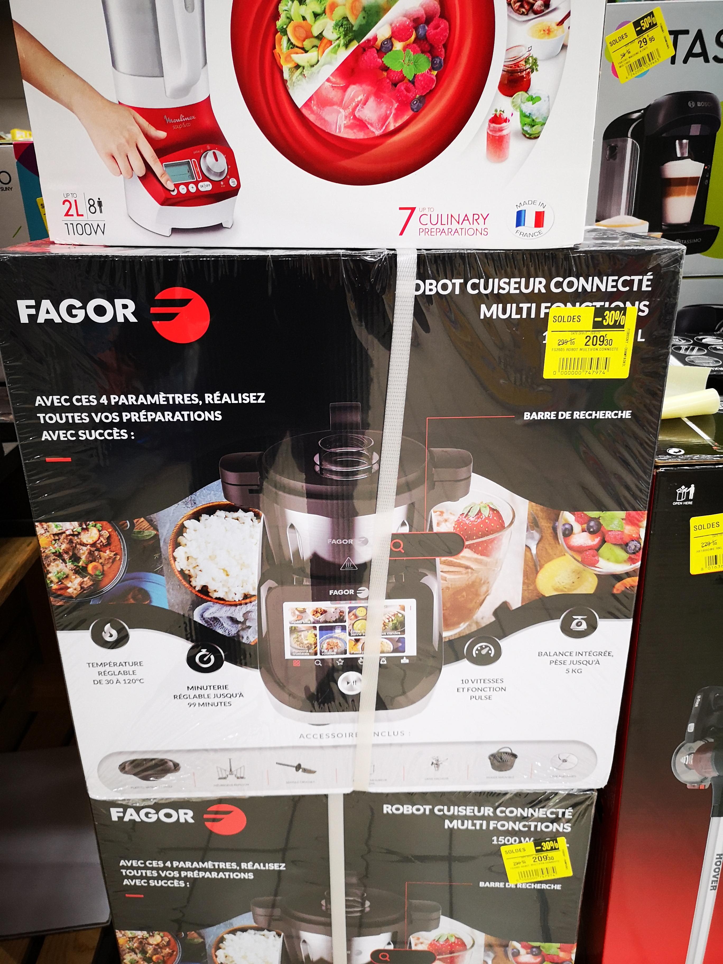 Robot Cuiseur Multifonction Fagor Connect Compact FG2605 - Carrefour lons le Saunier (39)