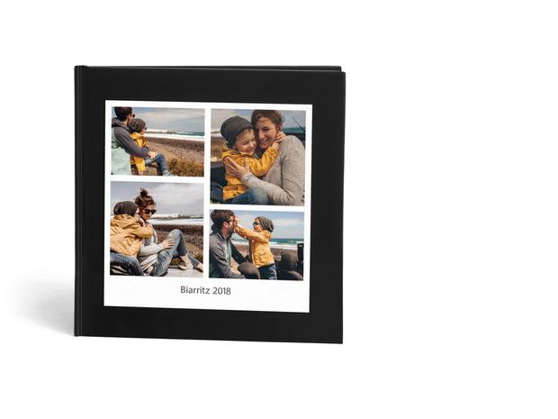 Sélection de Livres photo en promotion - Ex : Livre Photo Express Carré - Couverture rigide (22 x 22 cm, 20 photos)