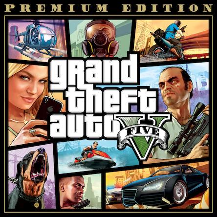 Jeu Grand theft Auto 5 (GTA V) sur PS4 - Edition Premium (Dématérialisé)