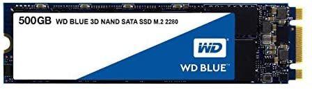 SSD interne M.2 Western Digital Blue SSD 3D NAND SATA - 500 Go