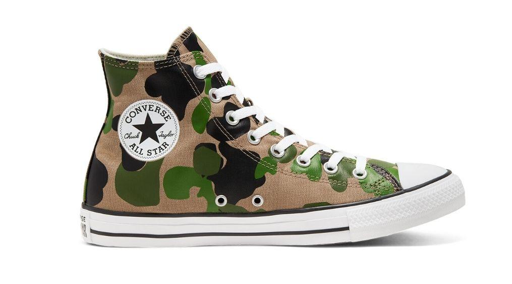 Chaussures montantes Converse Chuck Taylor All Star Archival Camo (du 35 au 48)