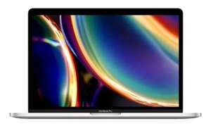 """PC Portable 13.3"""" Apple MacBook Pro (2020) - Magic Keyboard, i5-8257U, 256 Go SSD, Argent (Frontaliers Suisses)"""