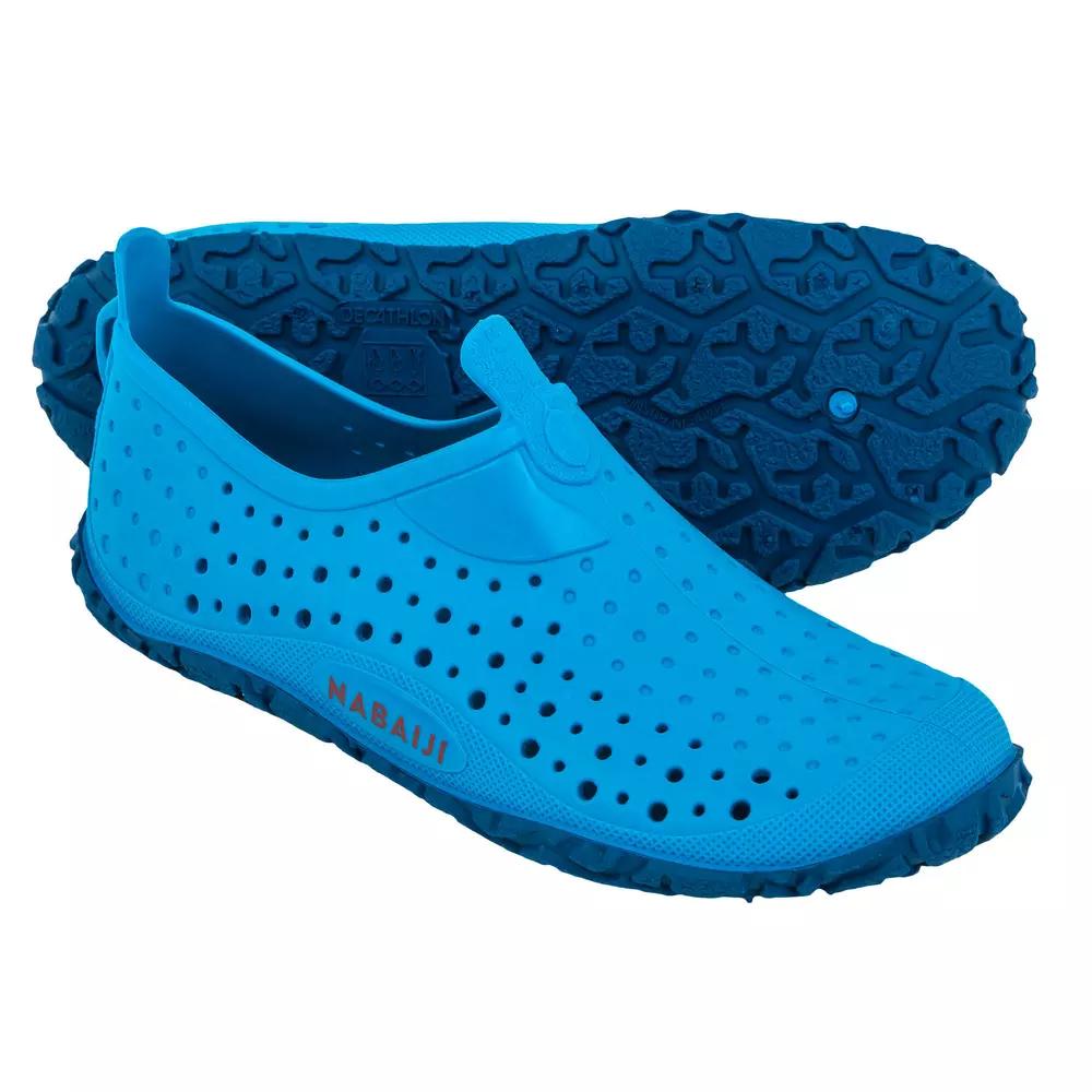 Chaussons de Piscine Garçon Nabaiji Aquadots 100 Blue - Taille 27 au 34