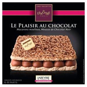 Gâteau Le plaisir au chocolat Lenôtre - Différentes variétés disponibles