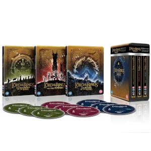 Trilogie Le Seigneur des Anneaux - Collection Steelbook 4K Ultra HD Edition Limitée (Ou Le Hobbit)