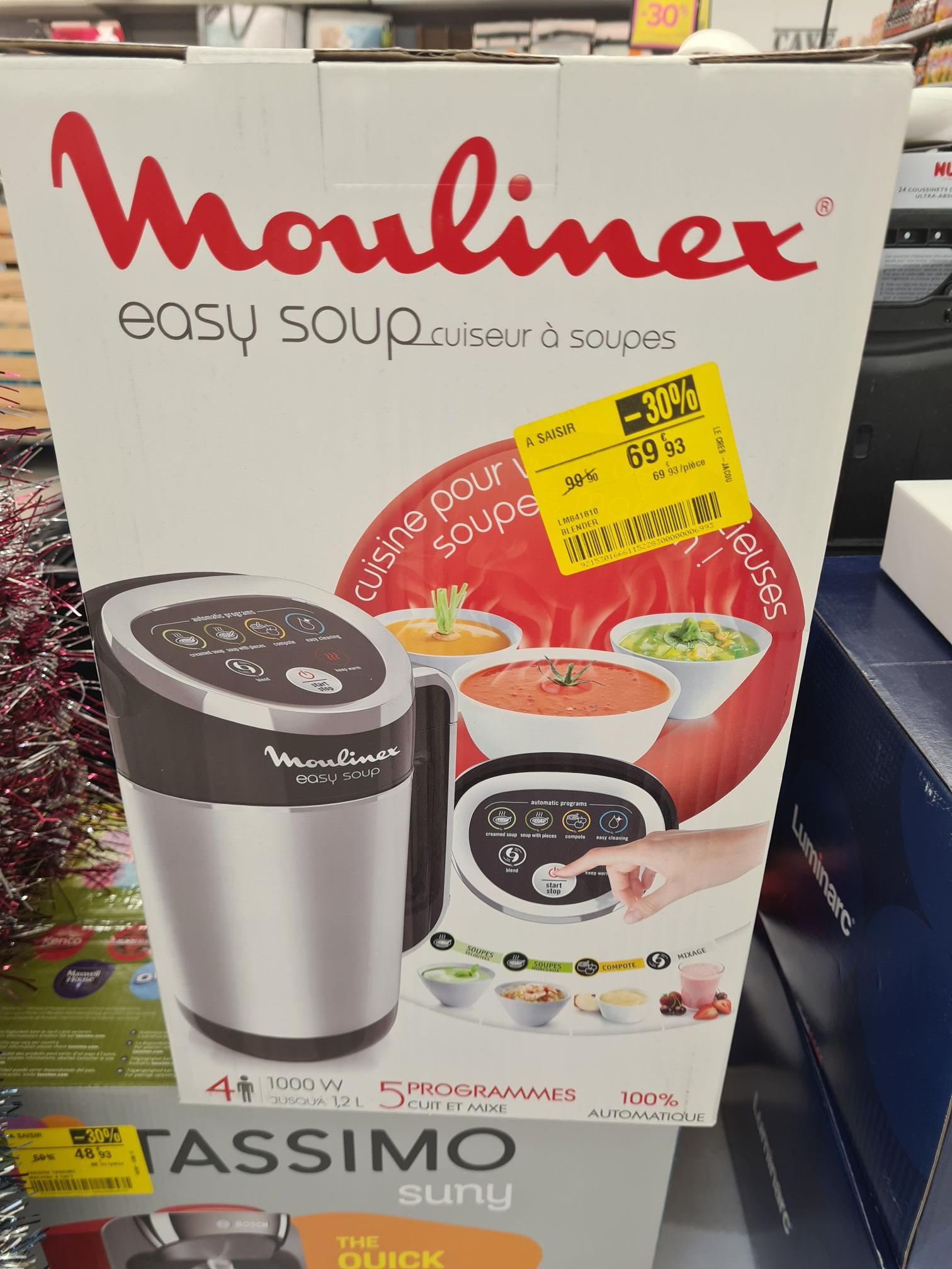 Blender chauffant Moulinex Easy Soup LM841810 (1000 W) - Le Crès (34)