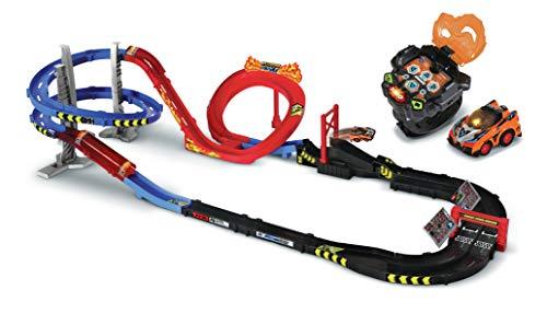 Circuit de voitures radiocommandées VTech Méga Circuit Super Loop + montre-voiture Turbo Force