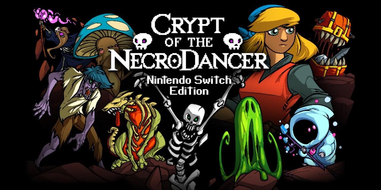 Sélection de jeux en promotion sur Nintendo Switch - Ex : Crypt of the NecroDancer: Nintendo Switch Edition (Dématérialisé)