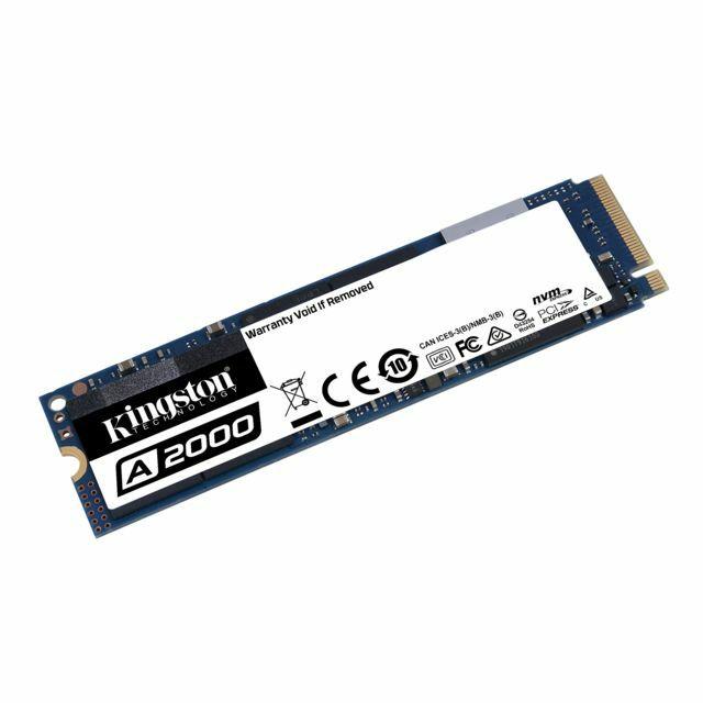 SSD interne M.2 NVMe Kingston A2000 (SA2000M8) - 500 Go