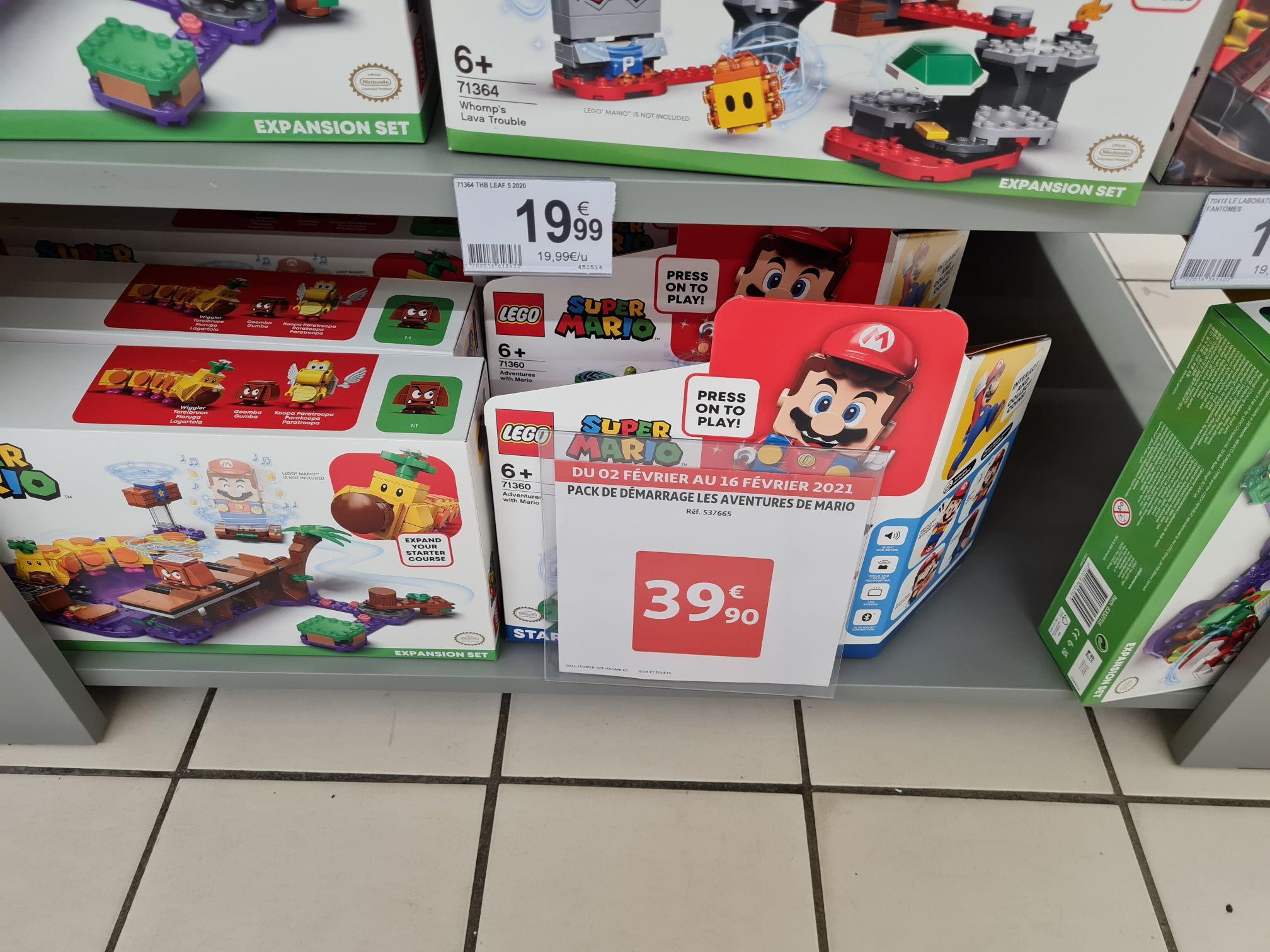 Pack de démarrage Lego Super Mario (71360) : Les Aventures de Mario - Biganos (33)