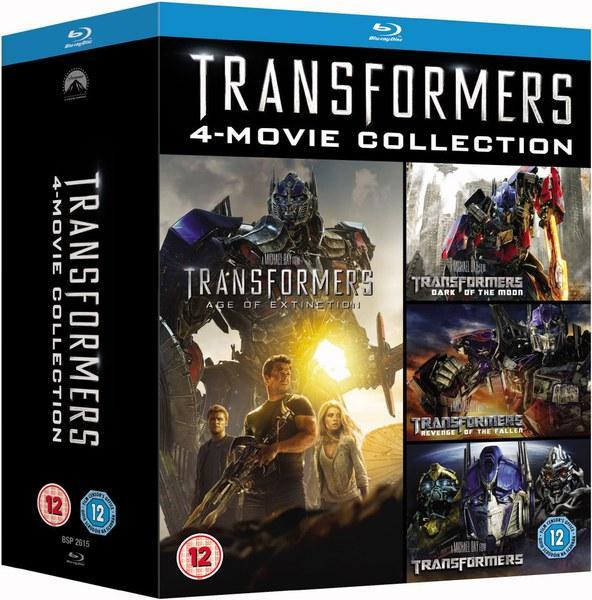 Coffret Blu-ray Transformers (4 films)
