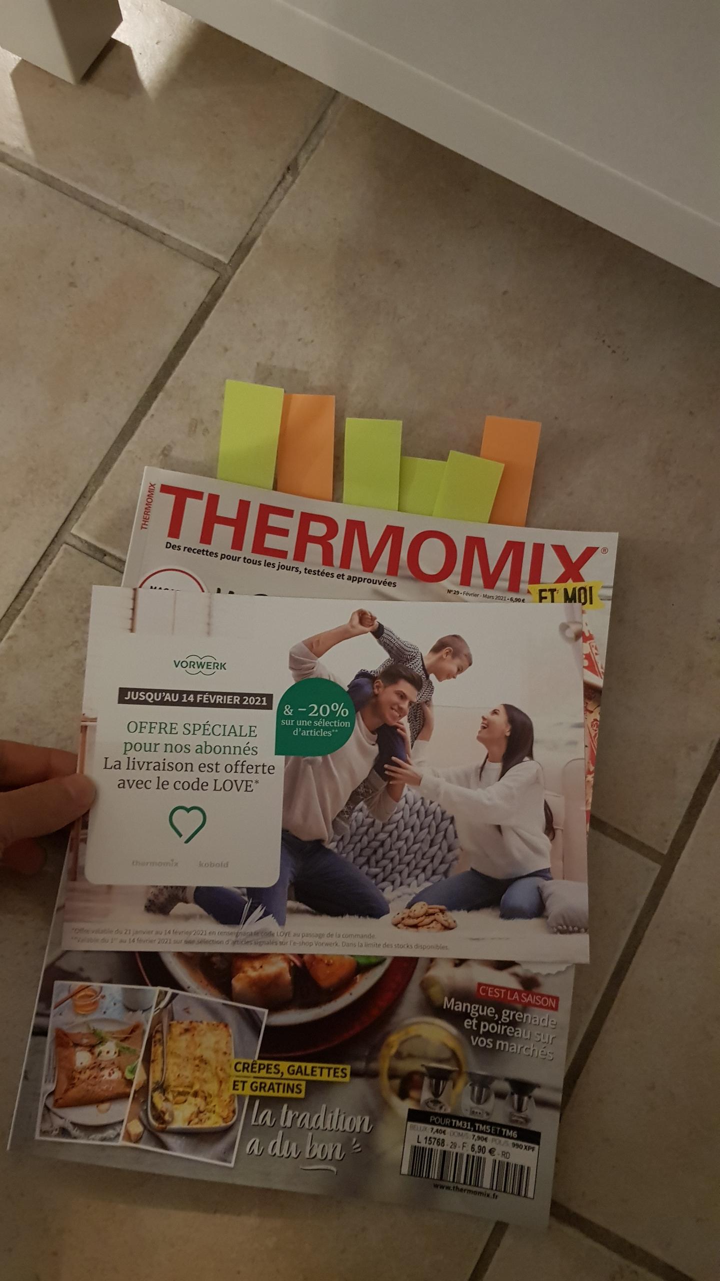 [Abonnés] 20% de réduction sur une sélection accessoires Thermomix