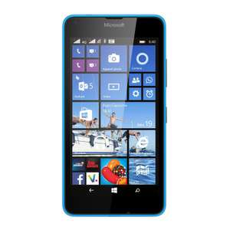 """Smartphone 5"""" Nokia Lumia 640 LTE - Double SIM, Bleu (via ODR 20€)"""