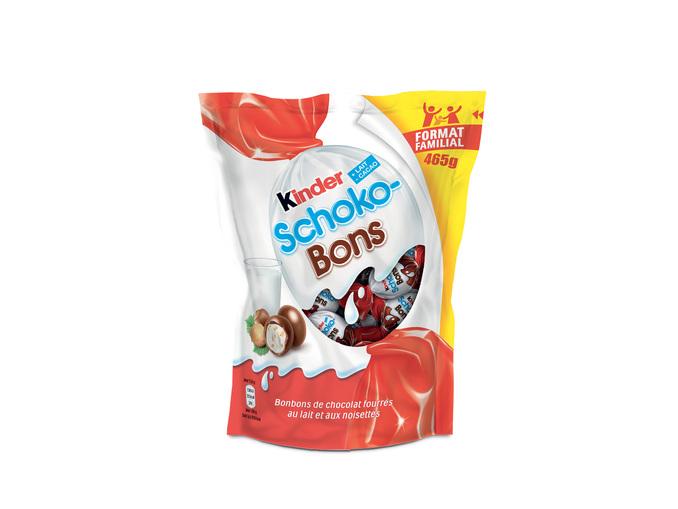 2 Paquets de Kinder Schoko-bons - 2x465g