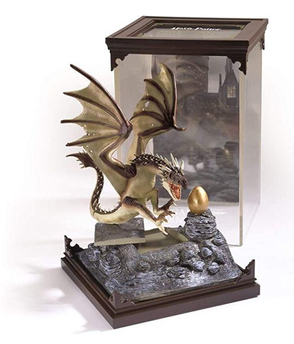 "Figurine Harry Potter ""Horntail hongrois"" (Magyar à pointes)"