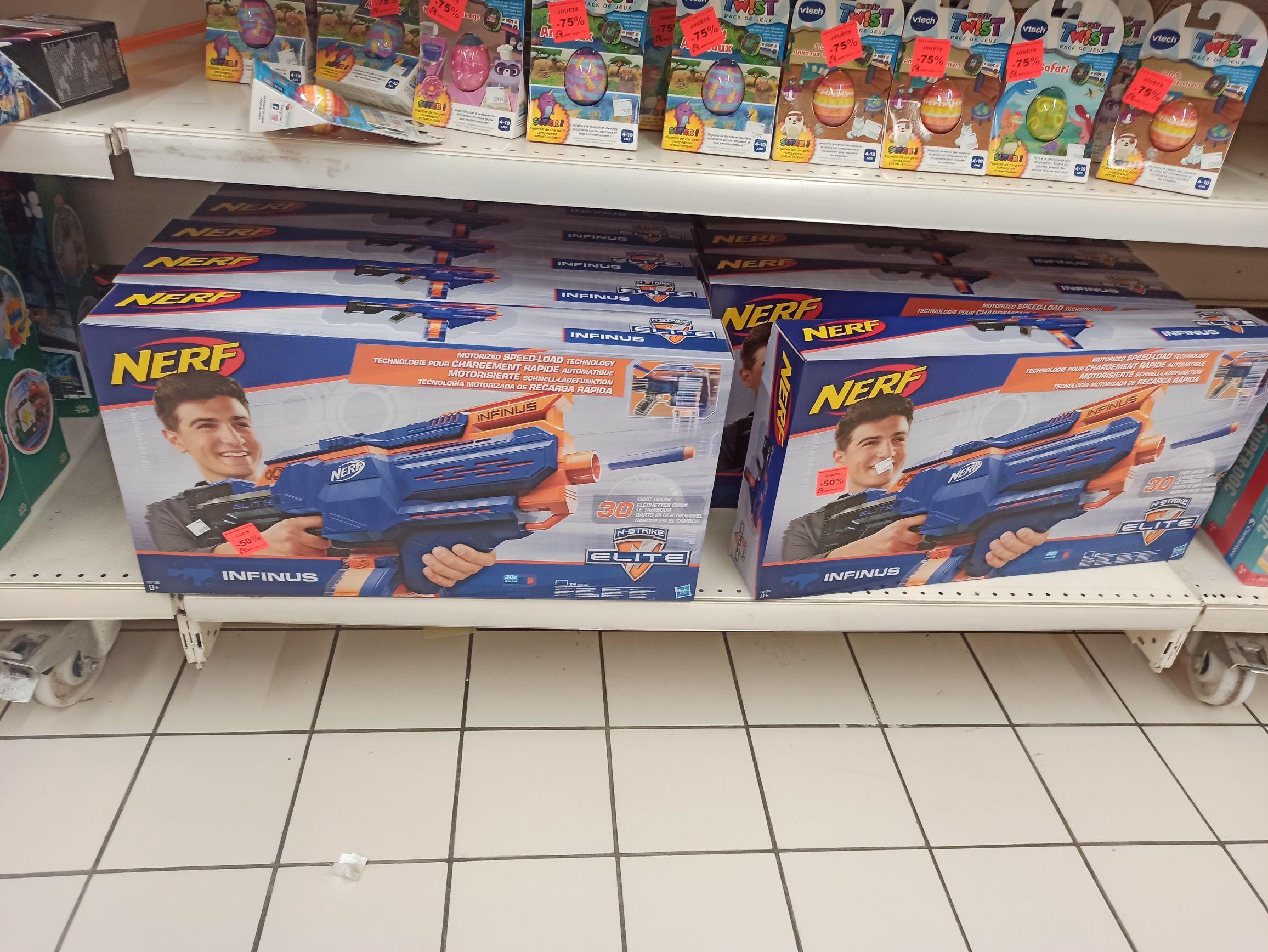 Pistolet Nerf Elite Infinus - Brétigny (91)