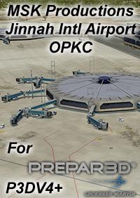 Add-on Aéroport P3DV4 Jinnah International Airport de MSK Productions sur PC (Dématérialisé - simmarket.com)