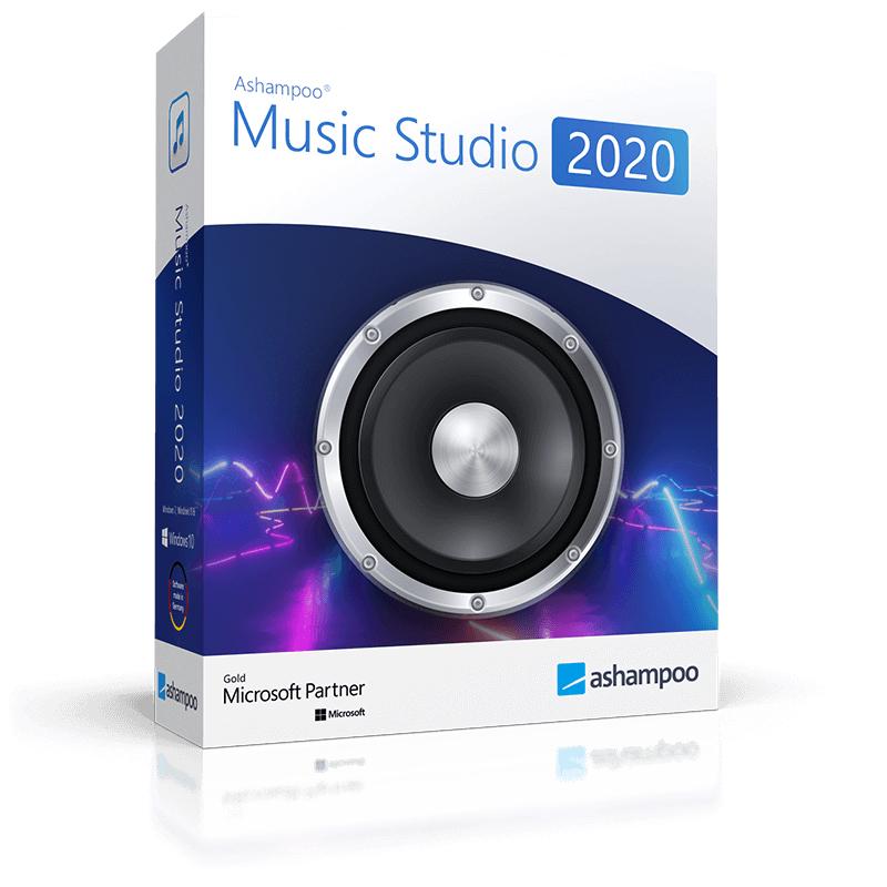 Licence à vie pour Ashampoo Music Studio 2020 sur PC - 1 Appareil (Dématérialisé)