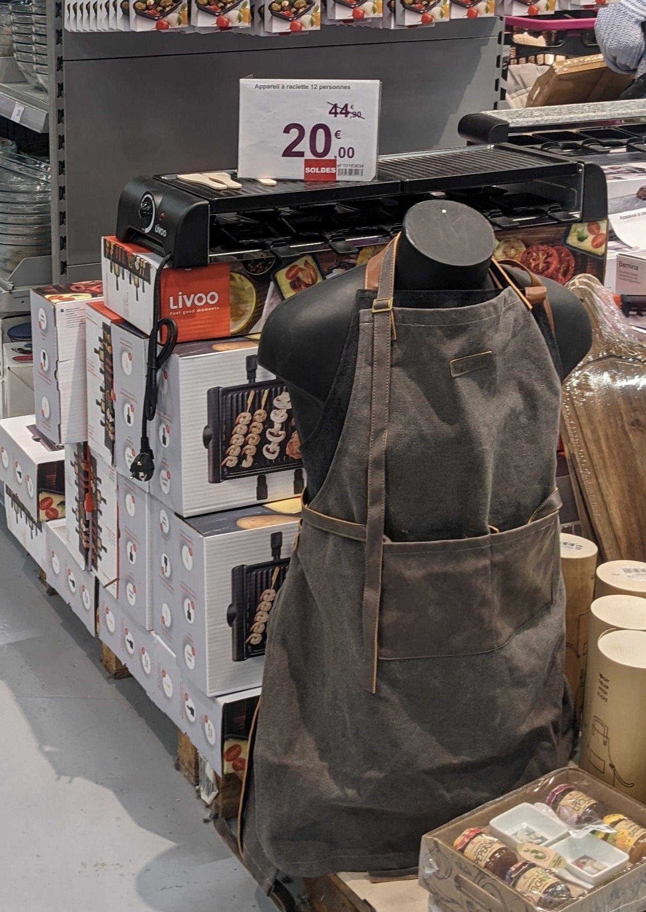 Appareil à raclette Livoo - 12 personnes (Massy 91)