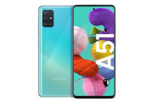 """Smartphone 6.5"""" Samsung Galaxy A51 - 4 Go de RAM, 128 Go (Reconditionné - Très bon)"""