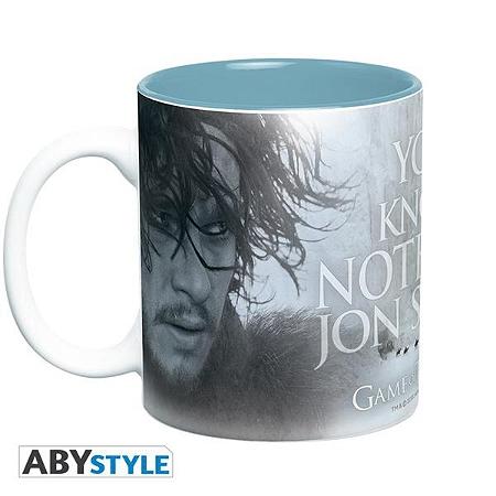 Mug Games of Thrones - You Know Nothing Jon Snow - 460 ml