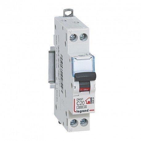 Sélection de Disjoncteur en promotion - Ex: Disjoncteur Legrand DNX 4500 - Uni+N - 230 V, 20 A ou 10A ou 16A